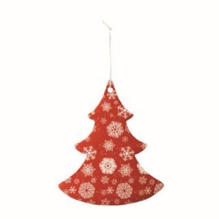 Sapin rouge & blanc 15,2 cm 283828