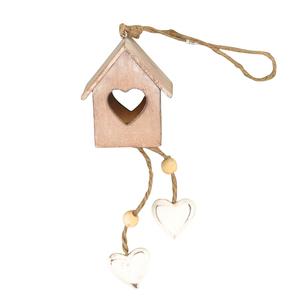 Maison en bois à suspendre 19 cm 284297