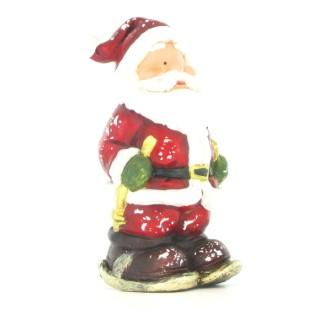 Père Noël rouge et blanc 6 x 8 x 19 cm 284438