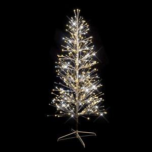 sapin lumineux branches argent h180cm 490 led blanc chaud p tillant guirlandes lectriques. Black Bedroom Furniture Sets. Home Design Ideas