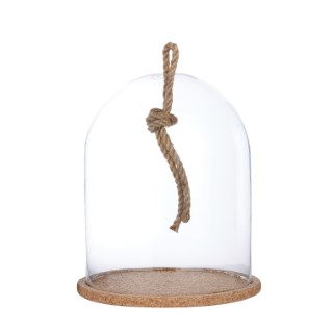 Cloche nino corde soucoupe de liège 287849