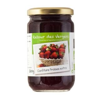 Confiture de fraises bio - 360 gr 288341