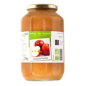 Compote de pommes Bio - 1,7 Kg 288344