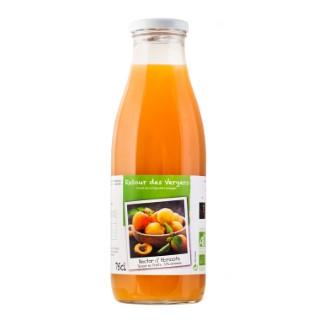 Nectar d'abricots bio en bouteille de 75 cl 288376