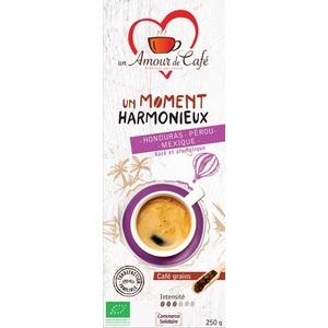 Café bio moment harmonieux 1/3 Honduras 1/3 Pérou 1/3 Mexiqu 250 g 289156