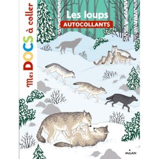 Les Loups Mes Docs à Coller dès 3 ans Éditions Milan 289182
