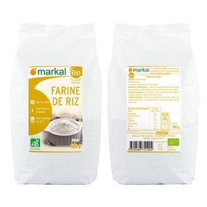 Farine de riz bio en sachet de 500 g 291203