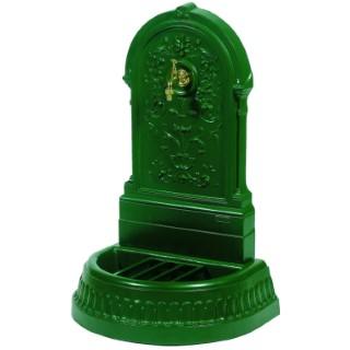 Fontaine Floraison couleur verte avec robinet Colvert - 98 cm de haut 291848