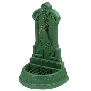Fontaine Vendanges couleur verte + robinet Colvert – 100 cm de haut 291871