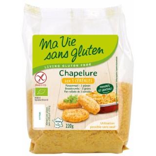 Chapelure aux 3 céréales sans gluten - 220 gr 291981