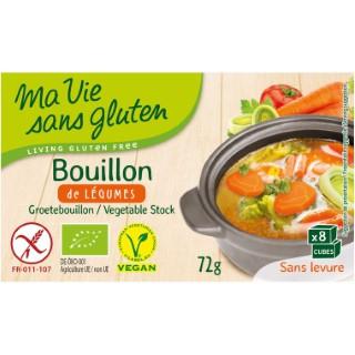 Bouillon de légumes sans gluten - 72 gr 291985