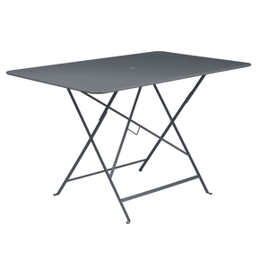 Grande Table pliante rectangulaire couleur Carbone 117 x 77 x 74 cm 292251