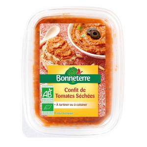 Confit de tomates séchées Bonneterre bio 140 g 292730