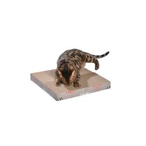 Griffoir Zigzag modulable pour chat 42x42x5 cm 293298