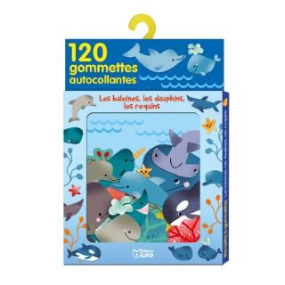 Les Baleines, les Dauphins, les Requins Ma Boîte à Gommettes 3 ans Éditions LITO 293439