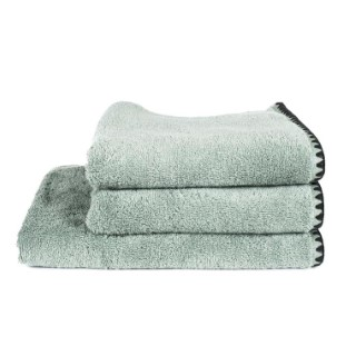 Serviette de bain Issey Celadon en coton 70x130 cm 296831