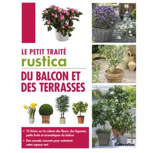 Le petit traité du balcon et des terrasses aux éditions Rustica 297051