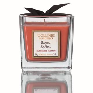 Bougie parfumée 200 g Santal Safran 297637