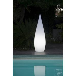 Cyprès lumineux blanc 120 cm de haut 297683