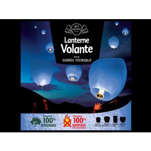 Lanterne volante bleue 297715