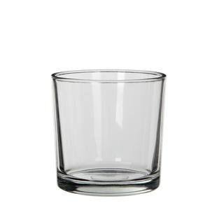 Vase Kenny Cylinder en verre transparent Ø 14 x H 14 cm 298657