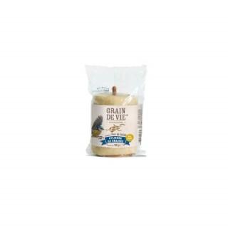 Cylindre de graisse avec vers de farine beige et support 350 g 298704