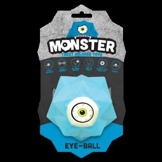 Balle pour chien Monster Ball coloris bleu 9 cm 298762