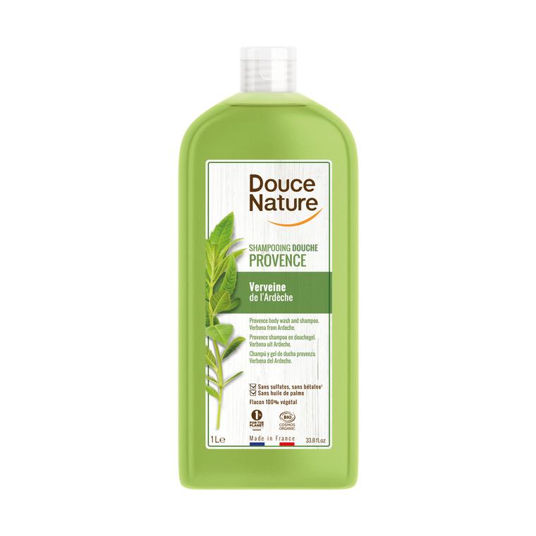 Shampooing douche verveine Douce Nature 1 l