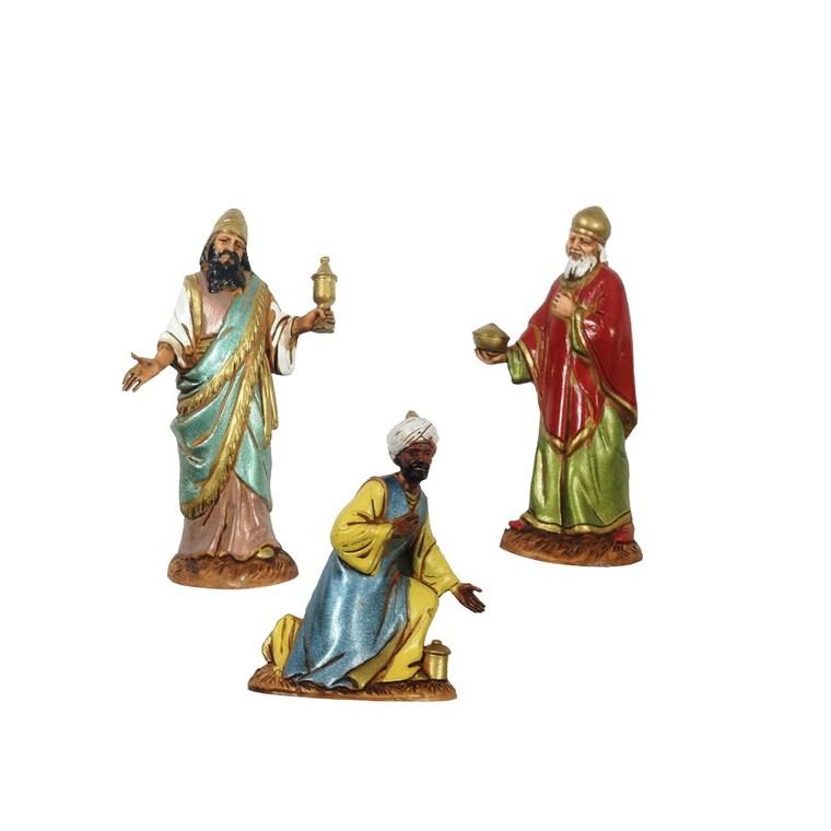 Rois Mages  vendus en sachet individuel - 10 cm