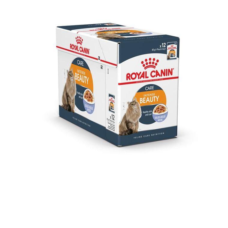 Sachets Royal Canin Intense beauty jelly 12x85 g 203631