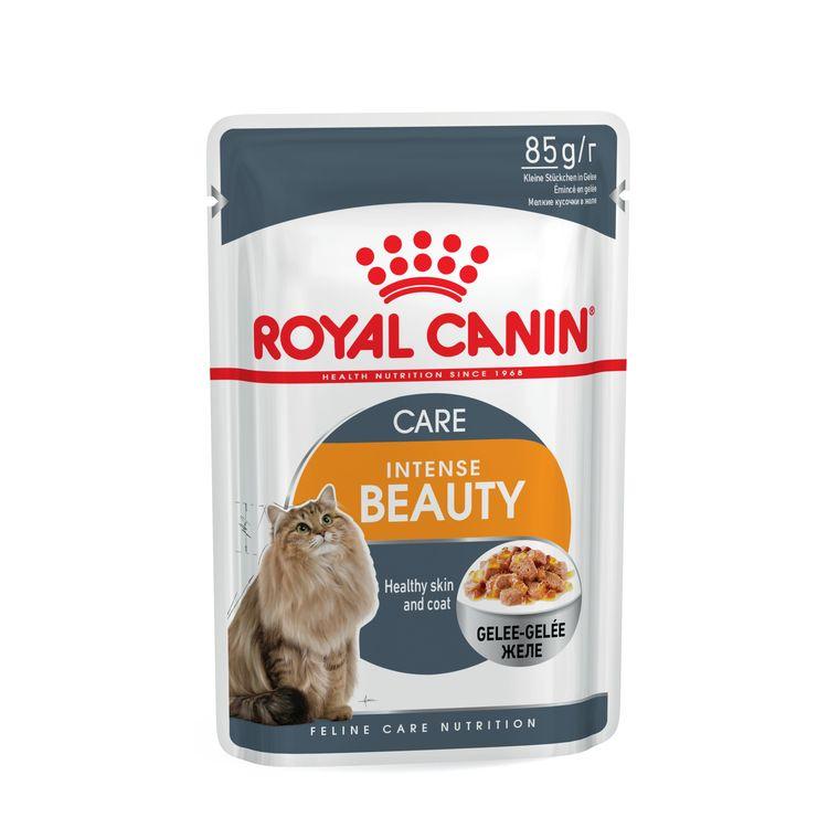 Sachets Royal Canin Intense beauty jelly 85 g 203632