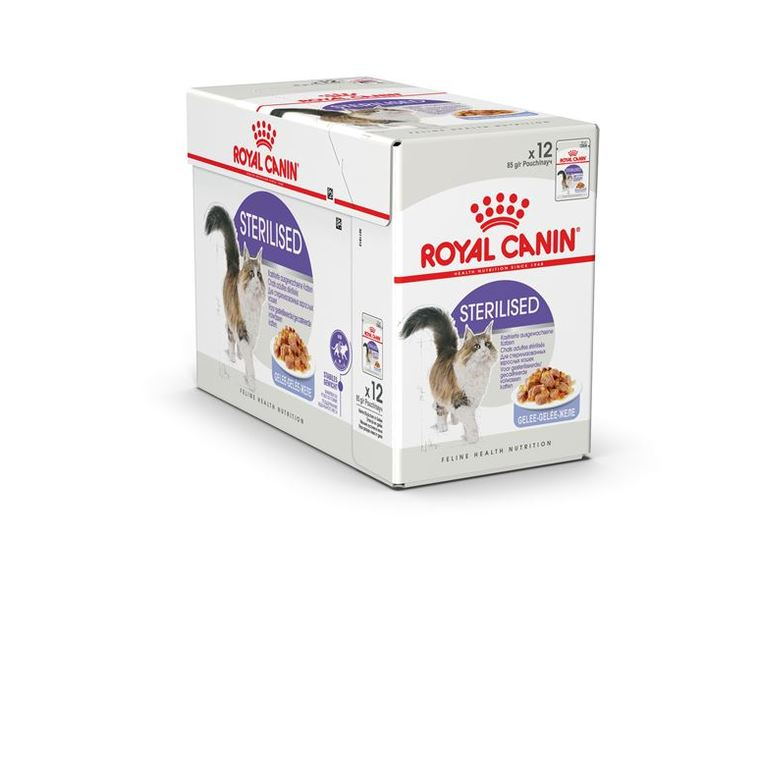Sachets Royal Canin Sterilised jelly 12x85 g 203633