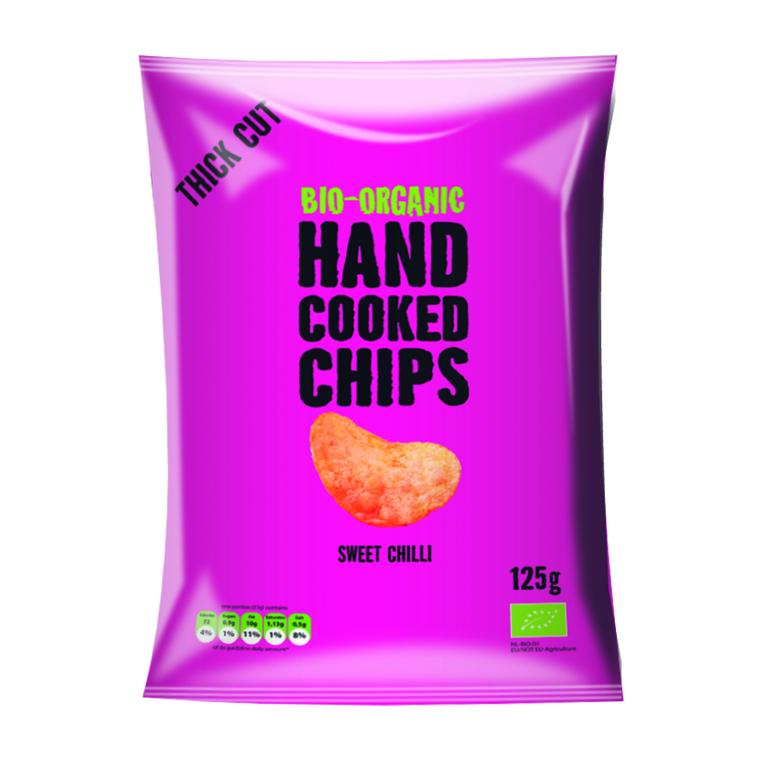 Chips à l'ancienne au Chili doux bio - 125 g 204172