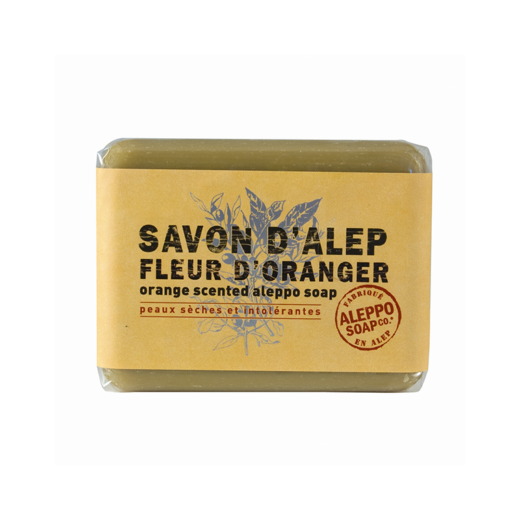 Savon d'Alep Fleur d'Oranger 100 g 204475