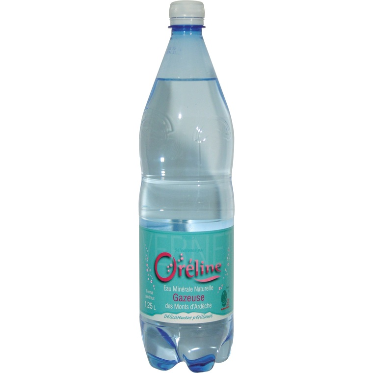 Eau gazeuse Oréline – Bouteille 1,25 L 204873