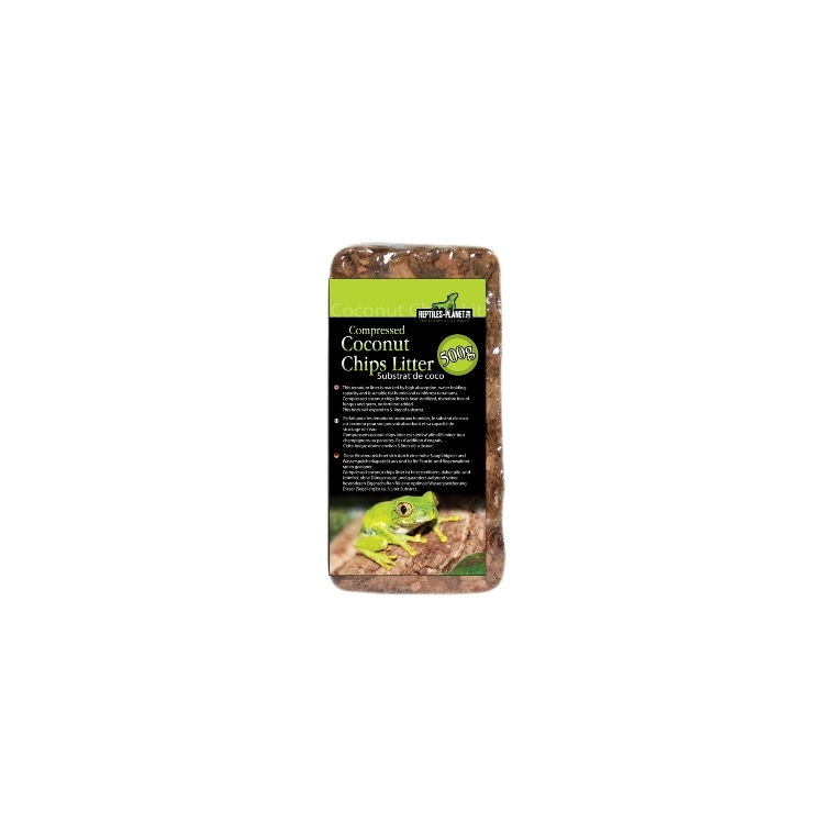 Écorce de noix de coco compressée 500 g 207042