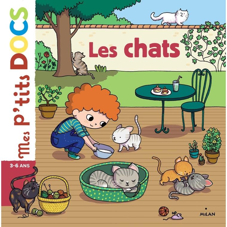 Les Chats Mes P'tits Docs 3 à 6 ans Éditions Milan 207322