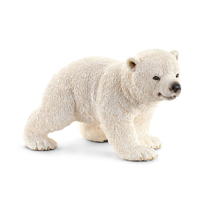 Figurine Ourson polaire marchant Série Animaux sauvages 6,5x4x4 cm 207824