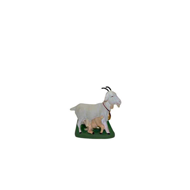 Chèvre et chevreau 3 cm 208350