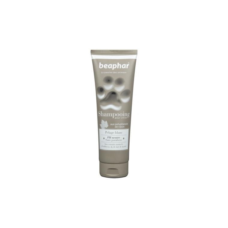 Shampoing Premium pelage blanc pour chien 250 ml