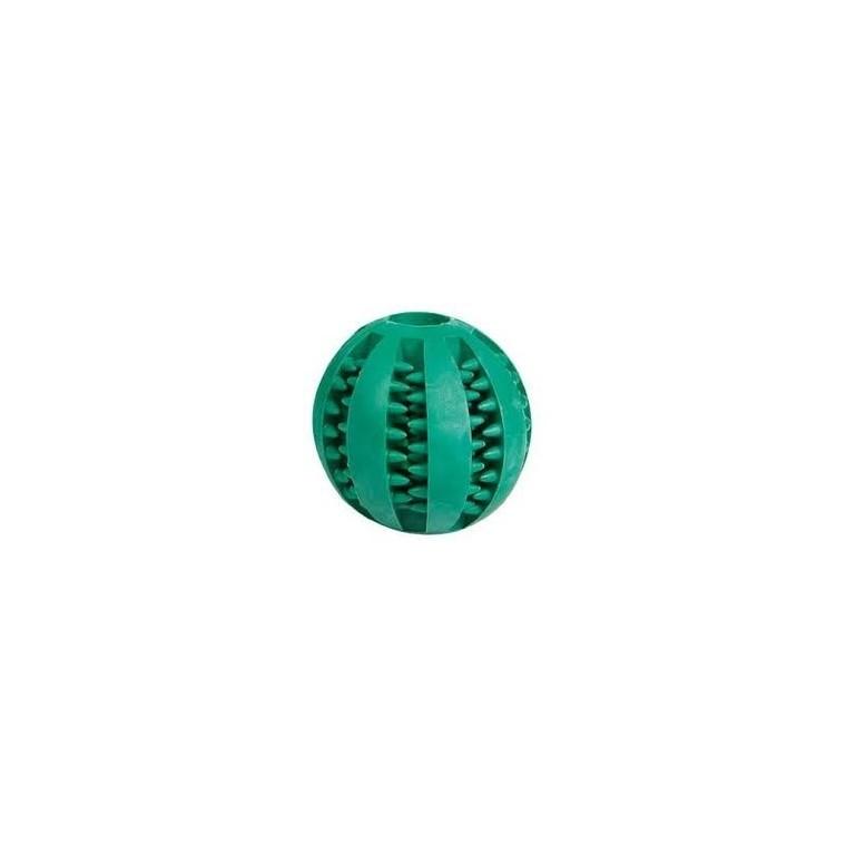Jouet pour chien Dental Ball balle verte avec picots Ø 7 cm 209328