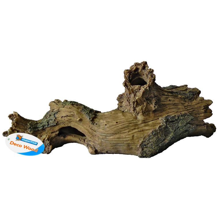 Sf Log Wood L Déco Résine 33x12x13 cm 209399