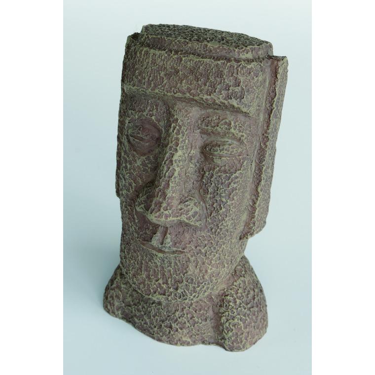 Zen Deco Easter Island Résine 8,5x8,5x12,6 cm 209409
