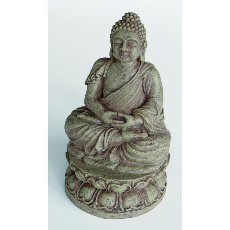Zen Déco Buddha Résine 9x9,3x15,5 cm 209410