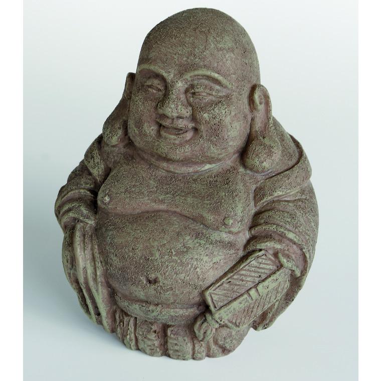 Zen Déco Laughing Buddha Résine 11,3x11x19 cm 209412