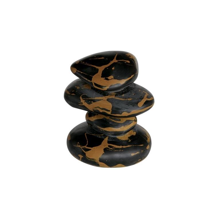 Zen Galets Marble Résine 10,5x10,5x12 cm 209425