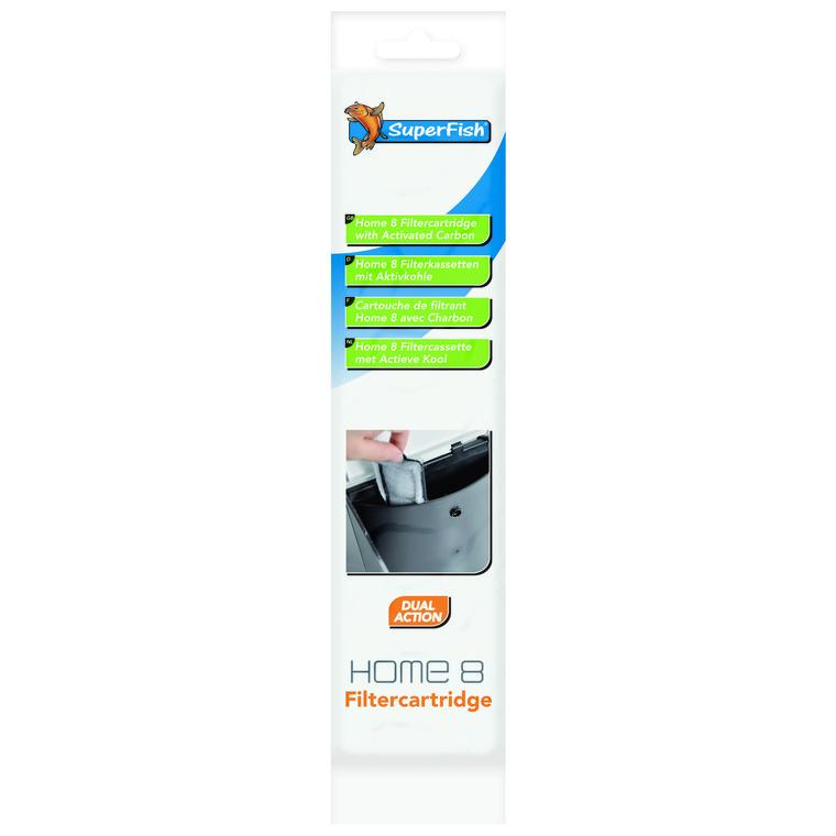Cartouche Filtration pour Aquarium Home 8 12,2x28,2x2 cm 209426