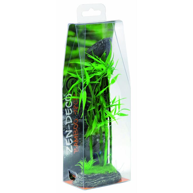 Zen Bambou Résine H 18 cm 209427
