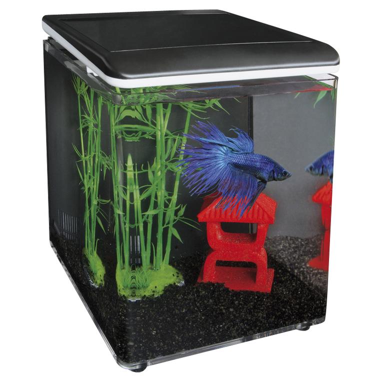 Aquarium Home 8 noir 8L 209454
