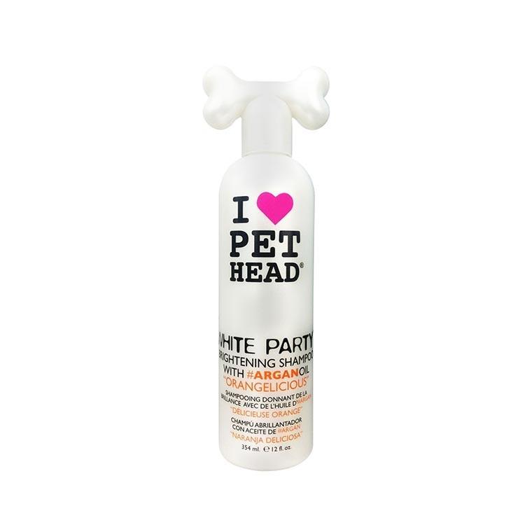 Shampooing poils blancs pour chien parfum orange 354 ml 210913
